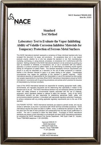 NACE Standard Test Report